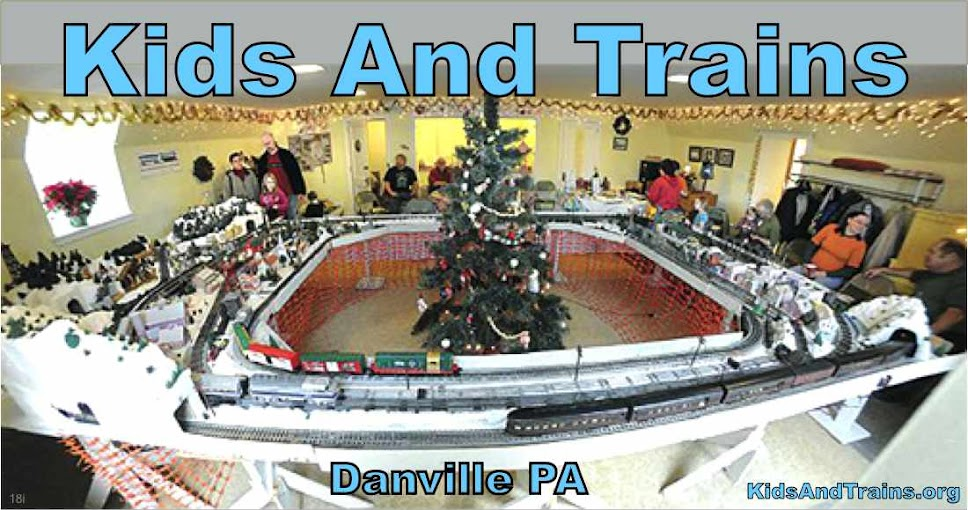 Model Train Layout for Kids | Danville PA |KidsAndTrains.org