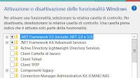 Disattivare funzioni Windows che non servono