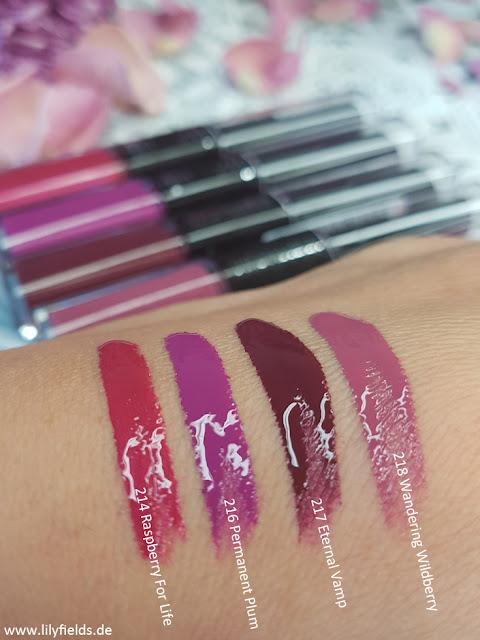 L'Oréal - Infaillible 24 Hr Lipsticks - Review & Swatches