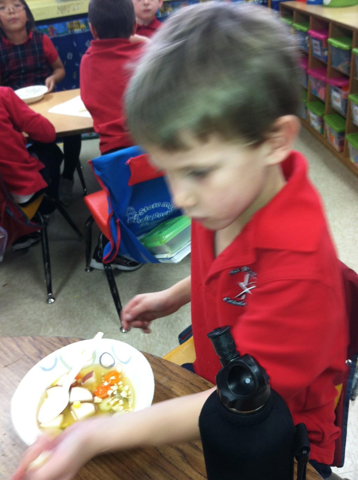 Ms Solano S Kindergarten Class Stone Soup