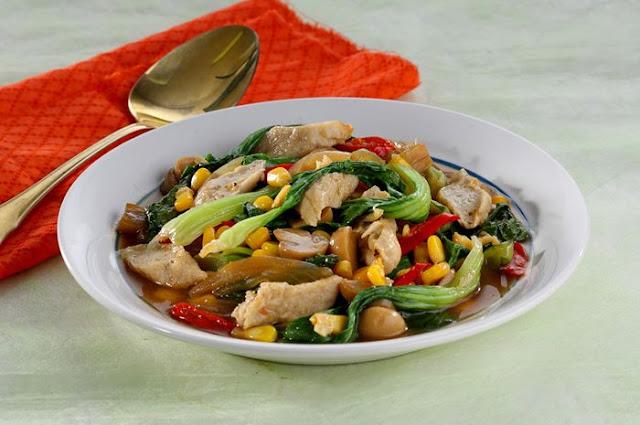 Resep makanan siap saji: Tumis Sayur Otak-otak