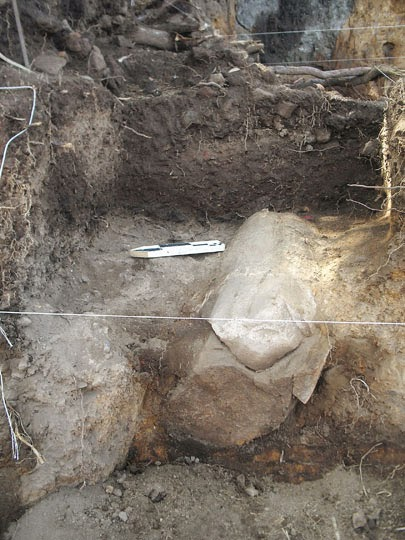 Mammoth tusk used as offering during pre-Hispanic times discovered in Mexico