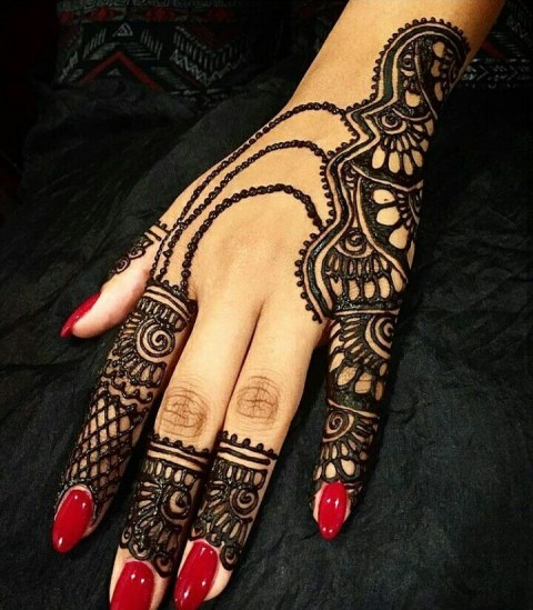 Mehndi Design Image Download