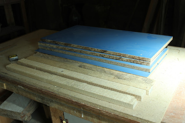 The free material cut to size for the router table