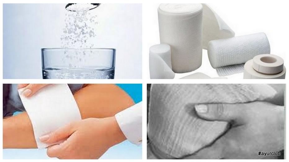 лечение артрита солевыми повязками