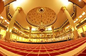 Kemegahan Mesjid Agung Islamic Centre Rokan Hulu Terbaik Di Riau Dan Indonesia