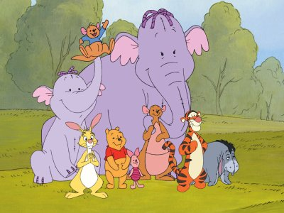 Pooh's Heffalump Movie Hindi English 300MB Free Download