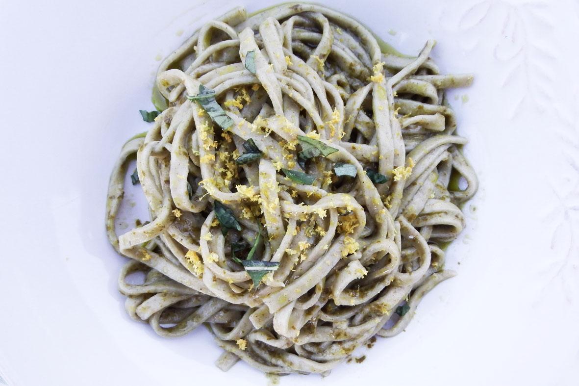 Tagliatelle di ortica al limone kucina di kiara for Cucinare ortica