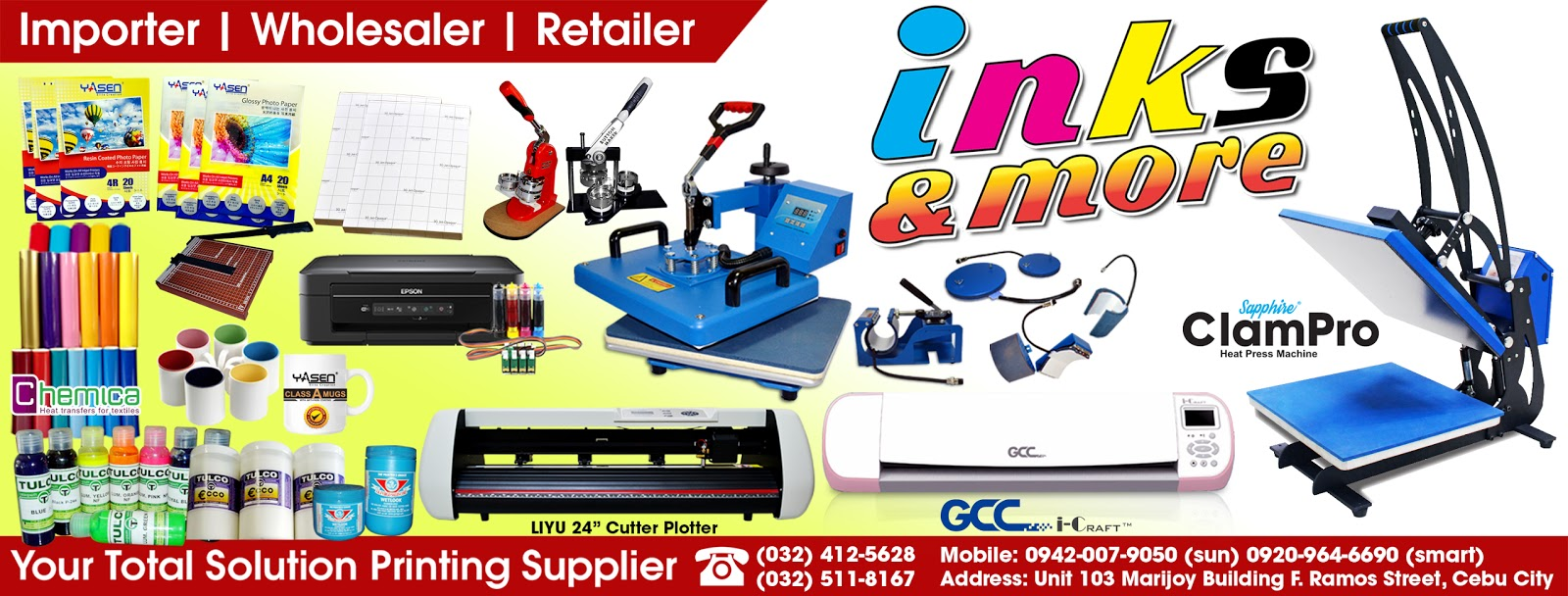 504a88a42 Supplier of T-shirt printing machine and consumables in Cebu City