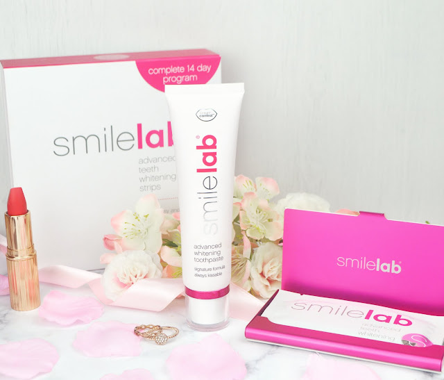 SmileLab Cosmetics UK Advanced Whitening Toothpaste and Advanced Whitening Strips review