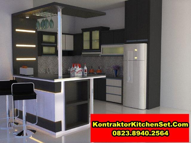 Jasa pembuatan kitchen set granit di malang model terbaru for Bikin kitchen set
