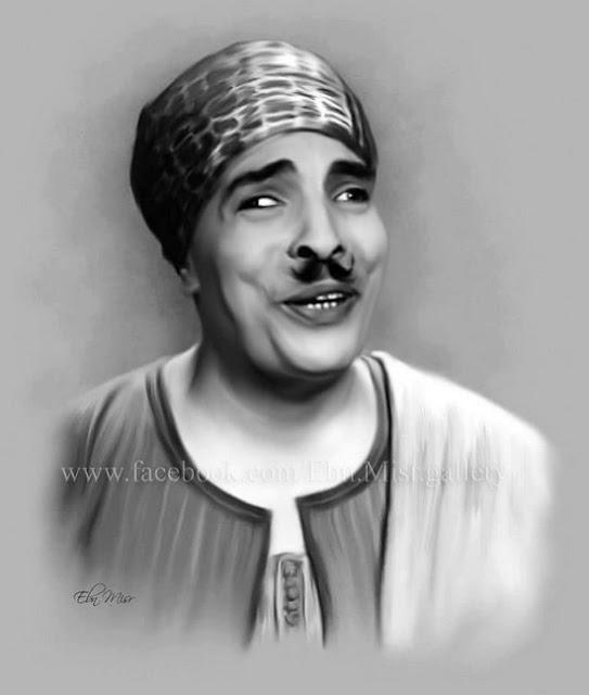 صور ورسومات بالرصاص ولوحات زيتية ل عبد الفتاح القصرى