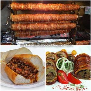 Makanan Turki Kokorec kokorek kokoretsi