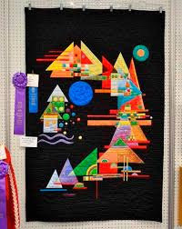 kandinsky inspired quilt by carol j. floyd