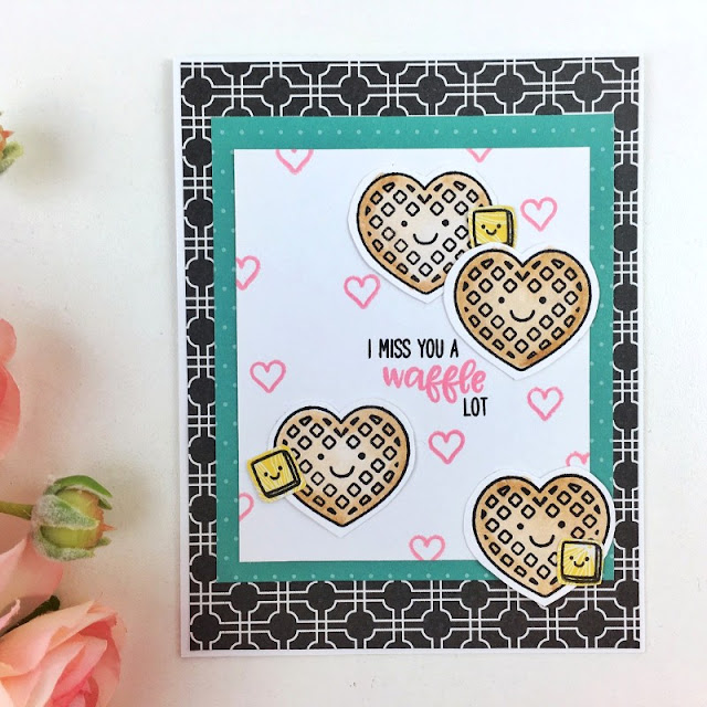 Sunny Studio Stamps: Breakfast Puns Customer Card Share by Becki Adams