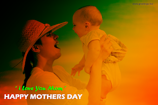 happy mothers day image happy mother holding smiling baby