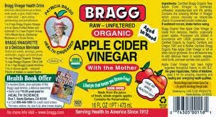 BRAGG ; APPLE CIDER VINEGAR 48 Ounce - Unfiltered  FOR ONLY 19.50