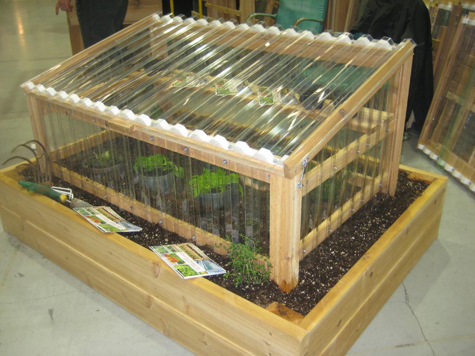 Cedar Vegetable Garden