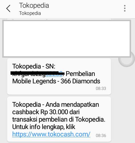 Cara Isi Diamond Mobile Legends via Tokopedia - Irumira