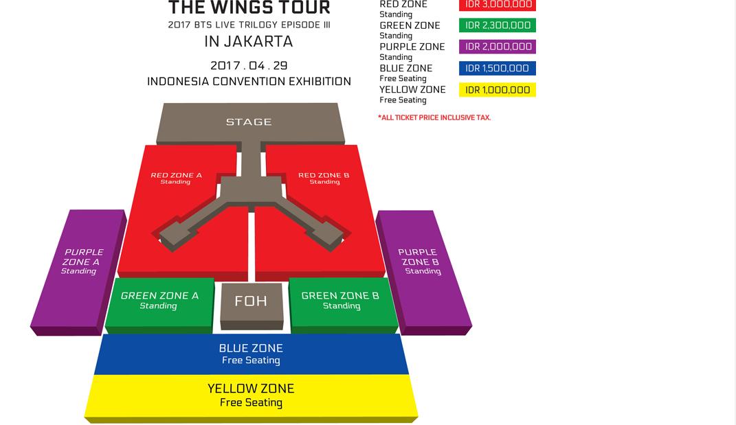 Berebut Tiket Konser Bts Wings Tour In Jakarta