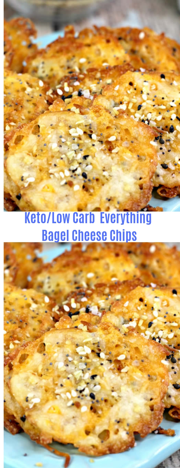 Keto/Low Carb  Everything Bagel Cheese Chips