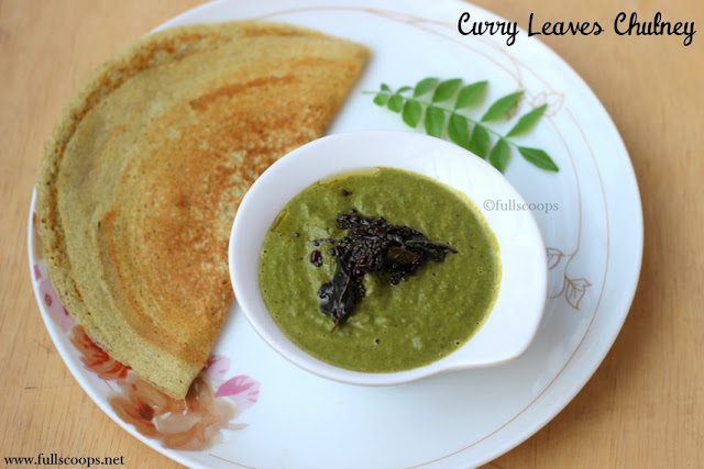 Curry Leaves Chutney