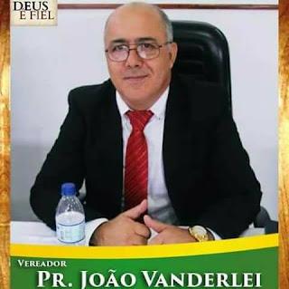 Homenagem do Vereador Pastor João Vanderlei ao Dia do Envegélico
