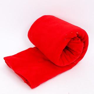 Chăn nỉ cao cấp các màu đỏ