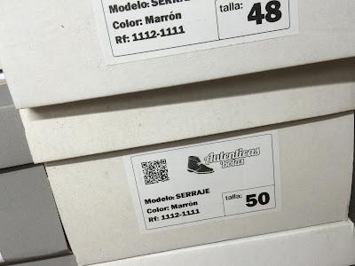 tallas grandes y pequeñas de botas