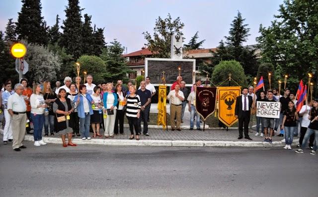 Δήμος και Ποντιακοί Σύλλογοι στο Ωραιόκαστρο τιμούν τη μνήμη των θυμάτων της Γενοκτονίας