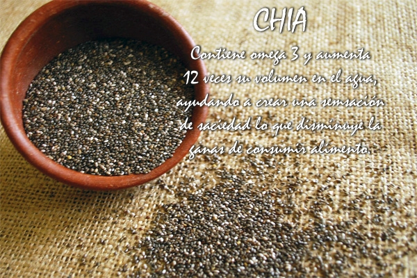 Como consumir semillas de chia para perder peso