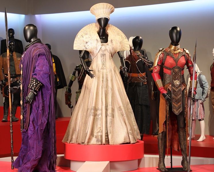 The Costumes Nominated For The 91st Oscars On Display In La Ihearthollywood