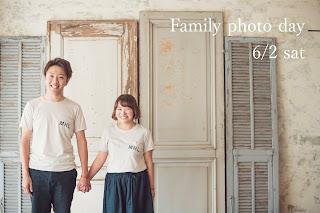 6月 Family photo day 続報
