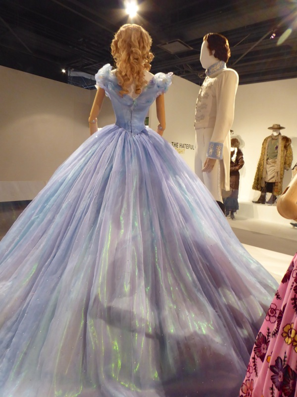 Cinderella Royal Ball gown back