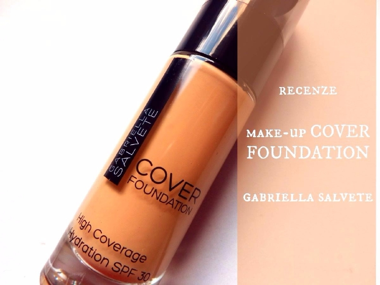 gabriella salvete elnino, recenze blog make-up cover foundation
