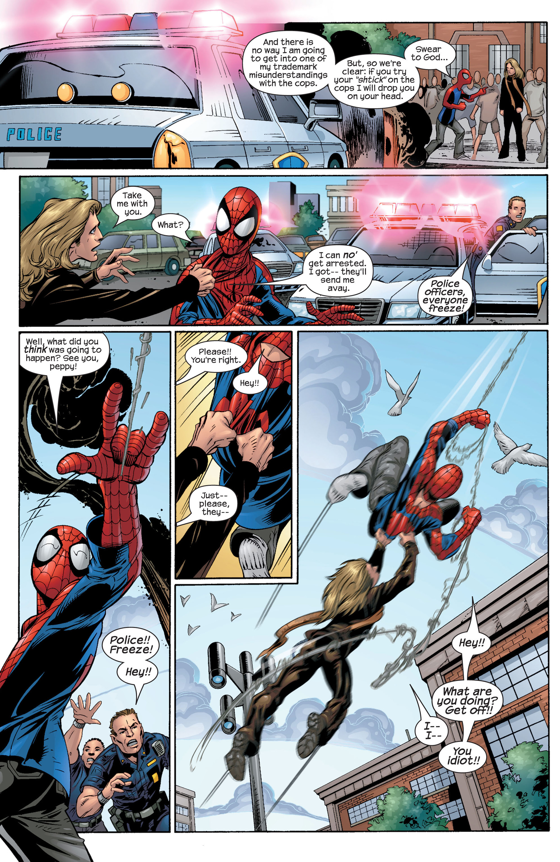 Read online Ultimate Spider-Man (2000) comic -  Issue #42 - 7