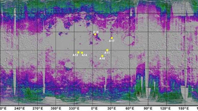 First Global Map of Water on Moon Created