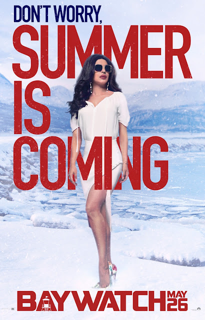 """Alexandra Daddario, Kelly Rohrbach, Priyanka Chopra & Ilfenesh Hadera Hot """"Baywatch"""" Film Posters"""