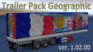 Geographic Trailers Pack v 1.02.00