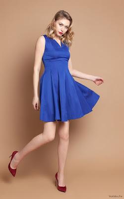 Vestidos Azules de Fiesta Cortos
