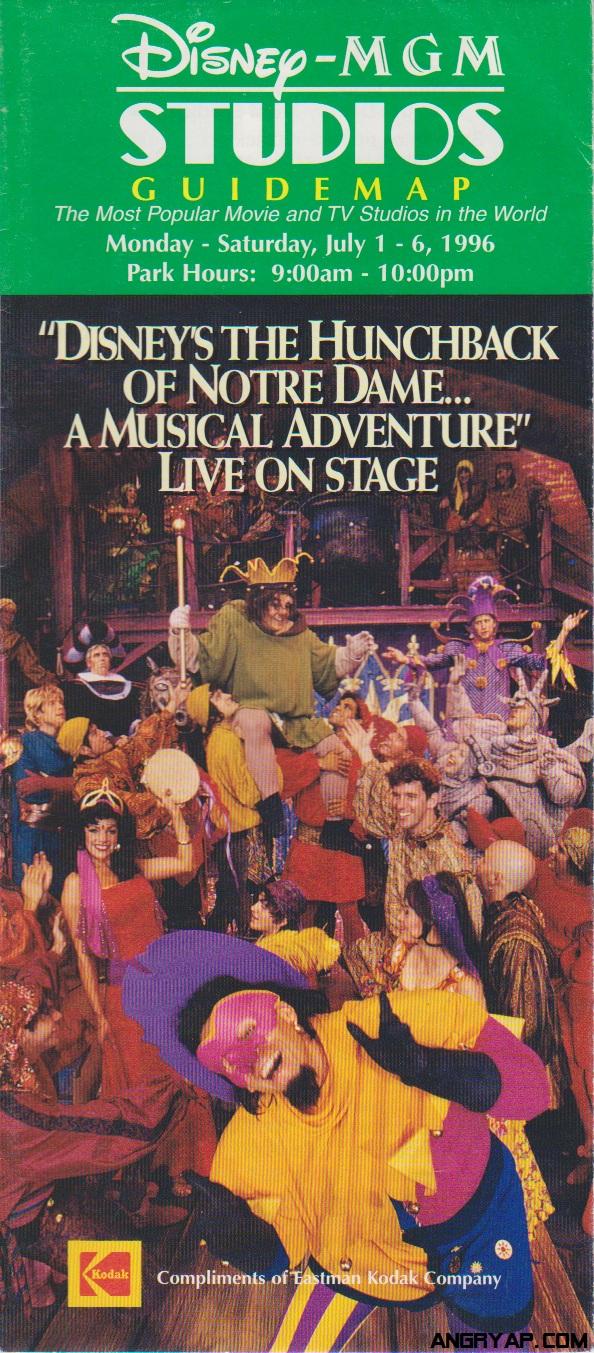Angry AP - Disneyland and Walt Disney World nostalgia ... on map of disneyland paris studios, map of pixar studios, map of disney universal studios, map of animation studios,