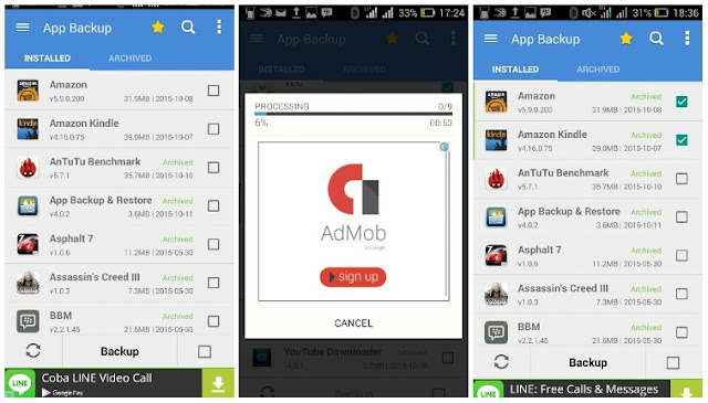 Cara Backup Aplikasi Android dengan App Backup and Restore