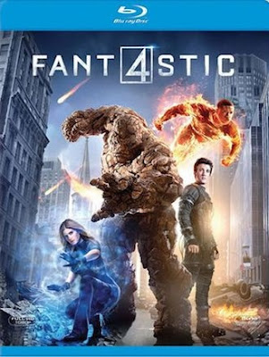Fantastic Four (2015) Dual Audio Hindi 720p BluRay 700MB