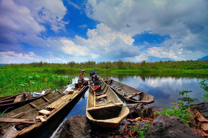 Wisata Rawa Danau Banten