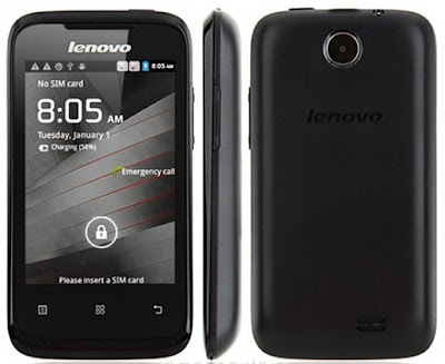 Lenovo A269i Specifications - LAUNCH Announced 2013, September DISPLAY Type Capacitive touchscreen Size 3.5 inches Resolution 320 x 480 pixels (~165 ppi pixel density) Multitouch Yes BODY Dimensions - Weight 112 g (3.95 oz) SIM Dual SIM (Mini-SIM) PLATFORM OS Android OS, v2.3 (Gingerbread) CPU Dual-core 1.0 GHz Cortex-A7 Chipset Mediatek MT6572 GPU Mali-400 MEMORY Card slot microSD, up to 32 GB (dedicated slot) Internal 512 MB, 256 MB RAM CAMERA Primary 2 MP Secondary No NETWORK Technology GSM / HSPA 2G bands GSM 900 / 1800 - SIM 1 & SIM 2 3G bands HSDPA 2100 Speed HSPA 7.2/5.76 Mbps GPRS Yes EDGE Yes COMMS WLAN Wi-Fi 802.11 b/g/n, hotspot GPS No USB microUSB v2.0 Radio FM radio Bluetooth v2.0 FEATURES Sensors Accelerometer, proximity Messaging SMS(threaded view), MMS, Email, Push Mail, IM Browser HTML Java Yes, via Java MIDP emulator SOUND Alert types Vibration; MP3, WAV ringtones Loudspeaker Yes 3.5mm jack Yes BATTERY  Removable Li-Po 1300 mAh battery Stand-by Up to 504 h Talk time Up to 19 h Music play - MISC Colors Black  - MP4/H.264 player - MP3/WAV/eAAC+ player - Photo/video editor - Document viewer - Voice memo/dial