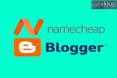custom domain blogspot di namecheap