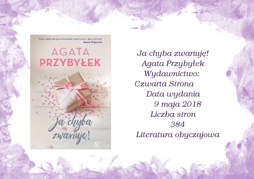 Ja chyba zwariuję! Agata Przybyłek!