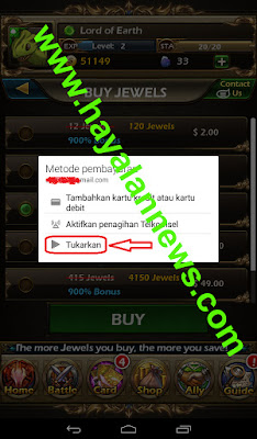 Trik baru gratis mendapatkan jewels game heroes and monsters