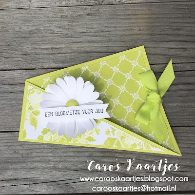 Stampin' Up! producten zijn verkrijgbaar via Caro's Kaartjes. Wil je meer informatie of wil je een bestelling plaatsen? Mail dan gerust naar carooskaartjes@hotmail.nl  Ik help je graag!